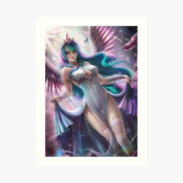 Celestial goddess  Art Print