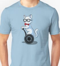 White and Nerdy Unisex T-Shirt