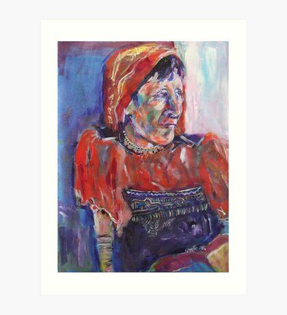 tainos woman Art Print