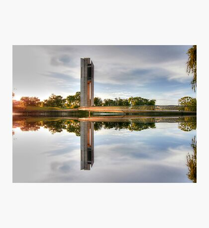 Which Way Up National Carillon Canberra Photographic Print