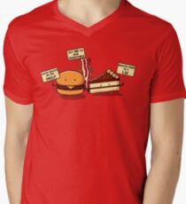 Occupy Stomach Men's V-Neck T-Shirt
