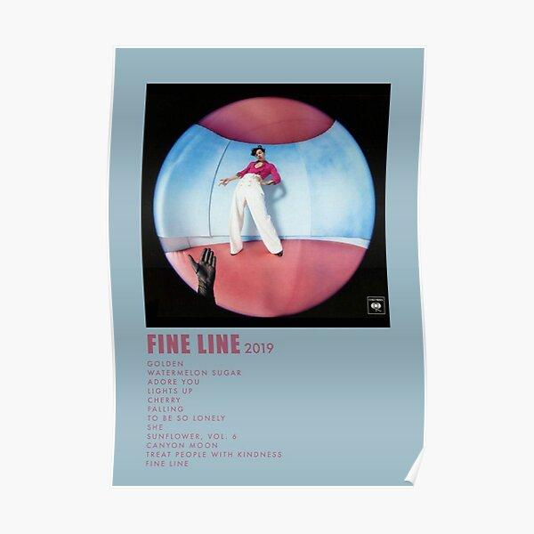 vintage fine line Poster
