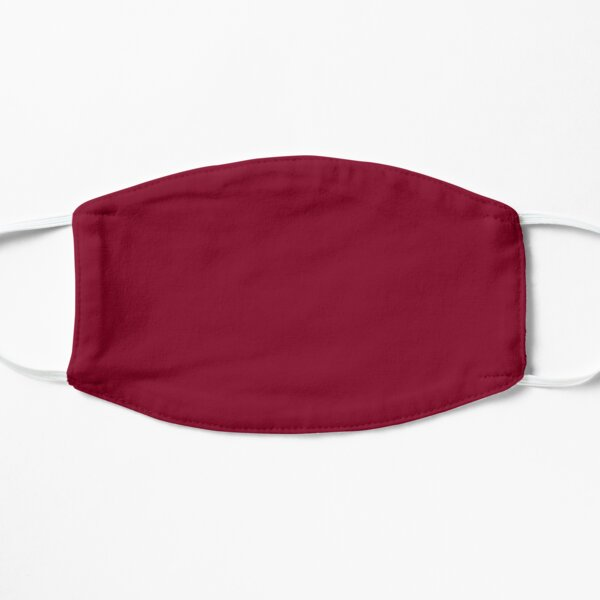 Burgundy Flat Mask