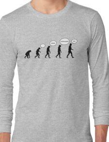 99 Steps of Progress - Language Long Sleeve T-Shirt