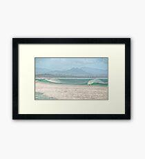 Misty Seascape - Byron Bay Framed Print