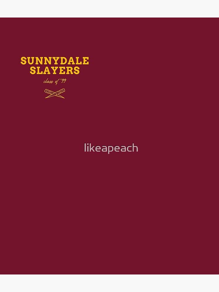 Sunnydale Slayers Badge BTVS by likeapeach