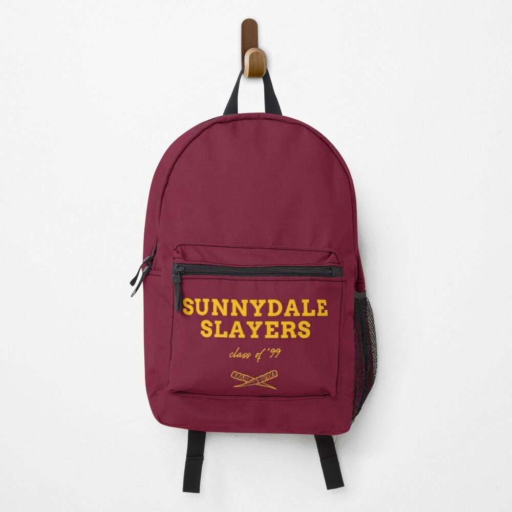 Sunnydale Slayers Badge BTVS Backpack