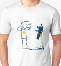 KILL 'em WITH KINDNESS T mascot Unisex T-Shirt