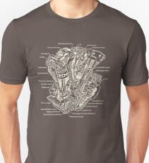 Detroit POWER! (tan ink) Unisex T-Shirt