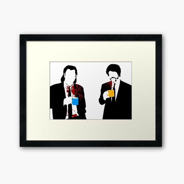 Gourmet Coffee Framed Art Print