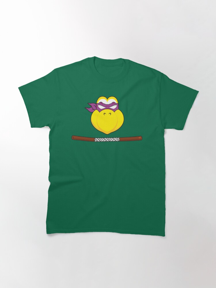 Alternate view of Troopa Power Purple Classic T-Shirt