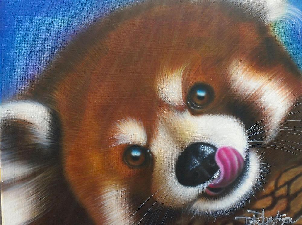 Red Panda by RobinsonArt