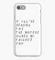 We've ALL Been There iPhone Case/Skin