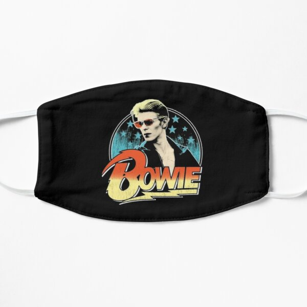 Classic David Bowie Flat Mask
