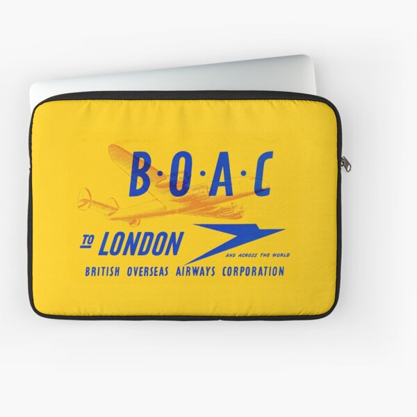 BOAC - To London Laptop Sleeve