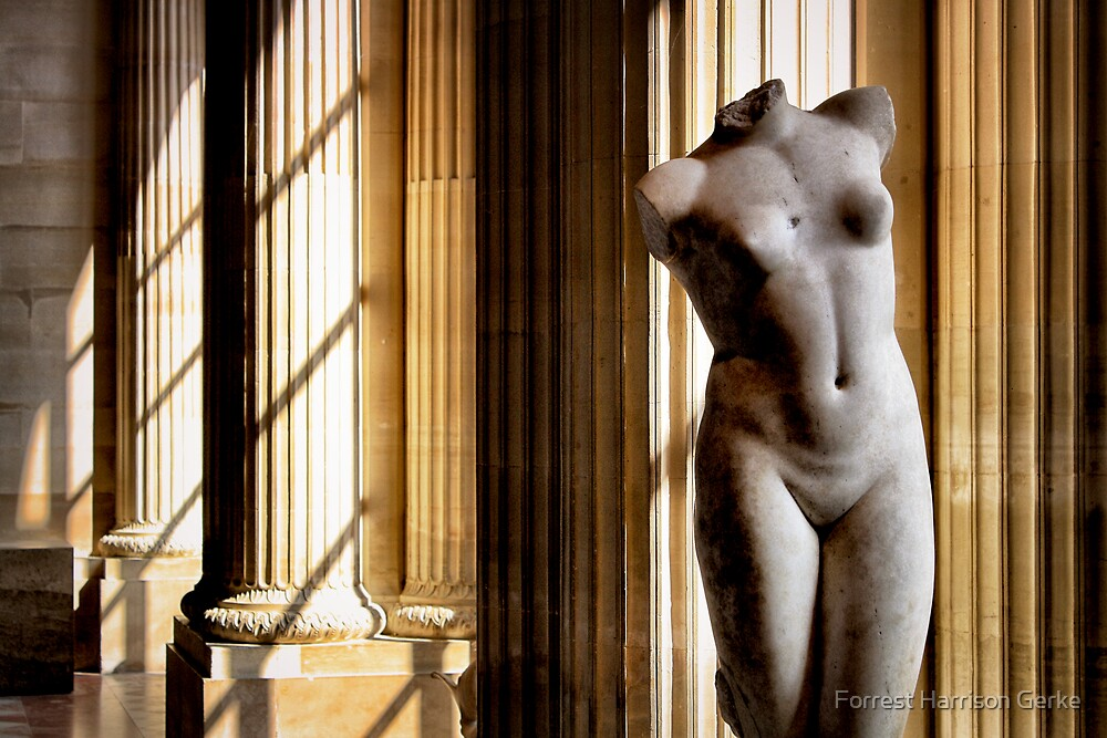 The Louvre, Paris by Forrest Harrison Gerke