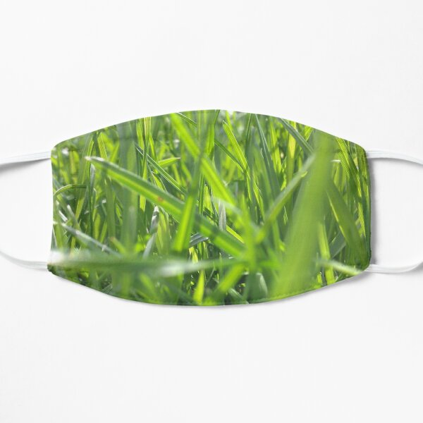In The Grass Flat Mask
