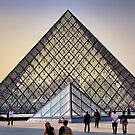 Glass Pyramid of the Louvre by Forrest Harrison Gerke