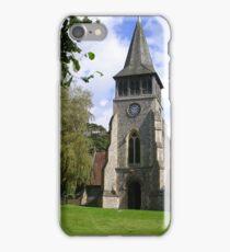 St. Nicholas' Church, Wickham iPhone Case/Skin