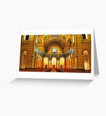 Church Cathedral Greeting Card