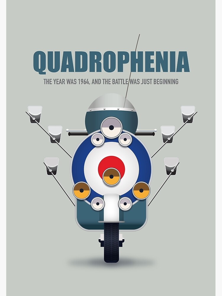 Quadrophenia - Alternative Movie Poster by MoviePosterBoy