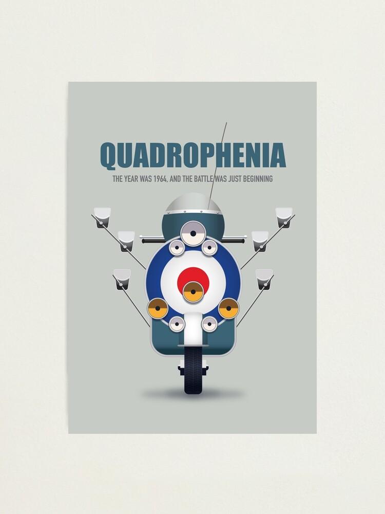 Alternate view of Quadrophenia - Alternative Movie Poster Photographic Print