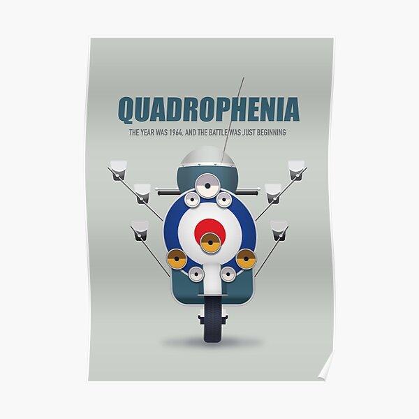 Quadrophenia - póster de película alternativa Póster