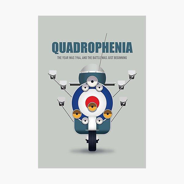 Quadrophenia - Alternative Movie Poster Photographic Print