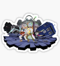 Rick and the Time Lords Sticker