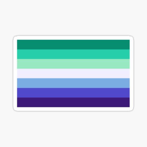 mlm pride flag Sticker