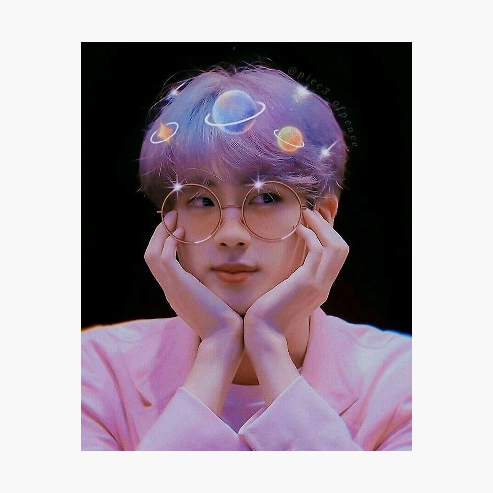Bts Seokjin Jin Cute Poster By Inniesart Redbubble