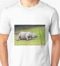 Greater One-horned Rhino T-Shirt
