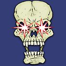 Sparkly-eyed skull by Malcolm Kirk