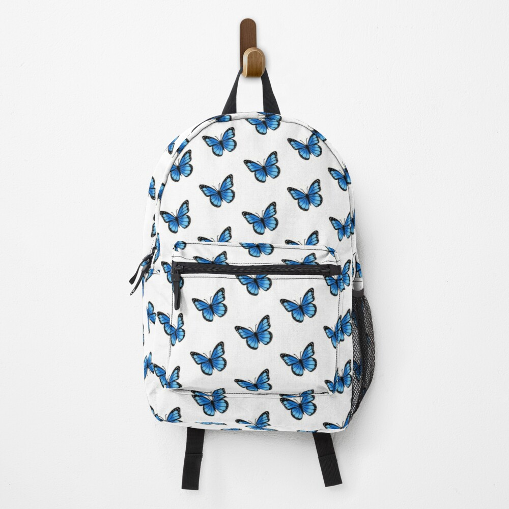 Blue Butterfly Backpack