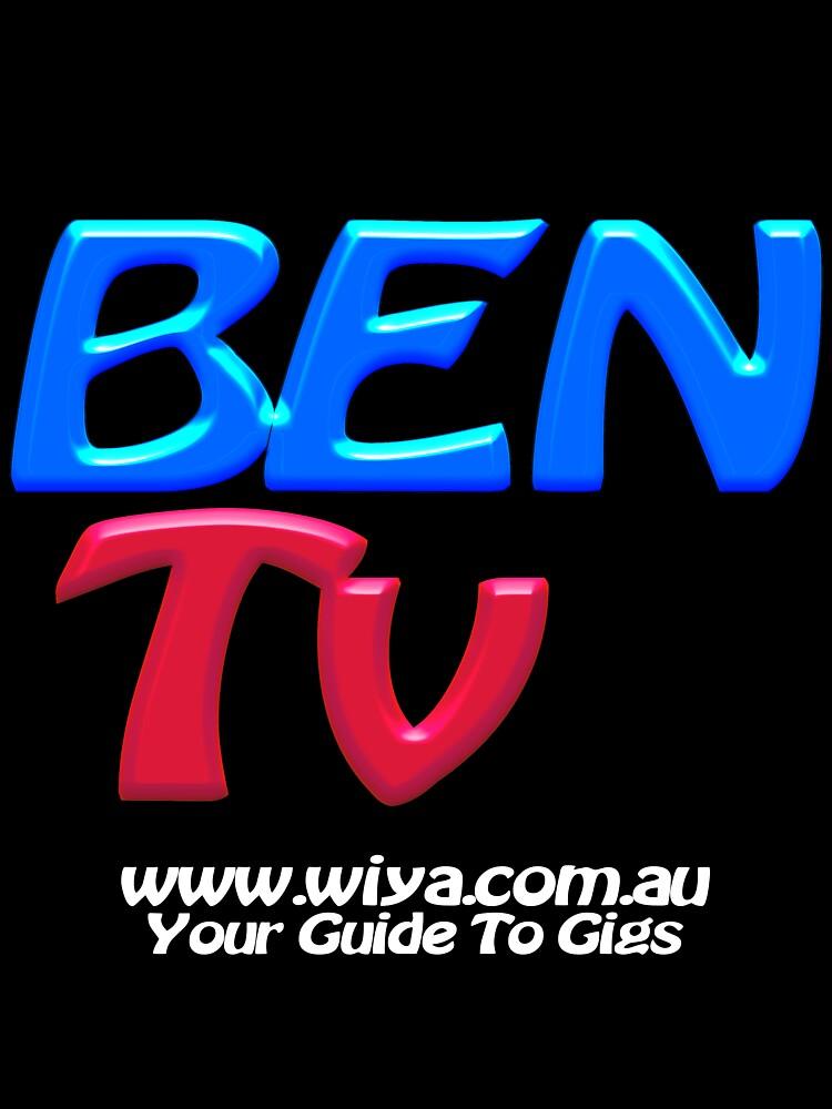 "BEN Tv ""Official Merchandise"" Clothing & Stickers by BenTv"