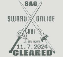 SAO Cleared  | Unisex T-Shirt