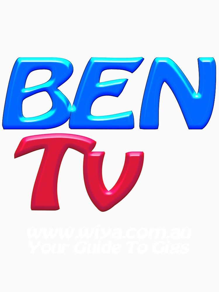 "BEN Tv ""Official Merchandise"" Transparent by BenTv"