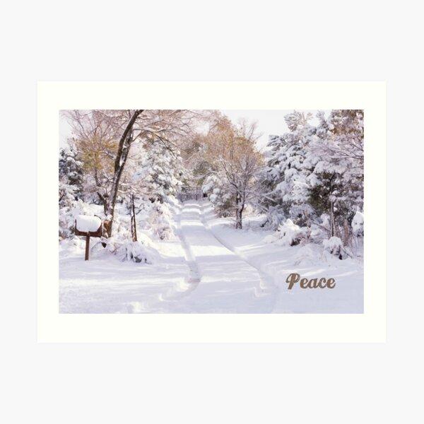 Peaceful Wonderland Art Print
