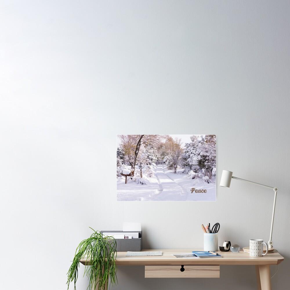 Peaceful Wonderland Poster