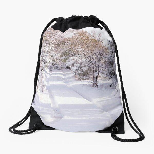 Peaceful Wonderland Drawstring Bag