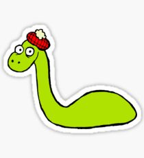 Loch Ness Monster Sticker