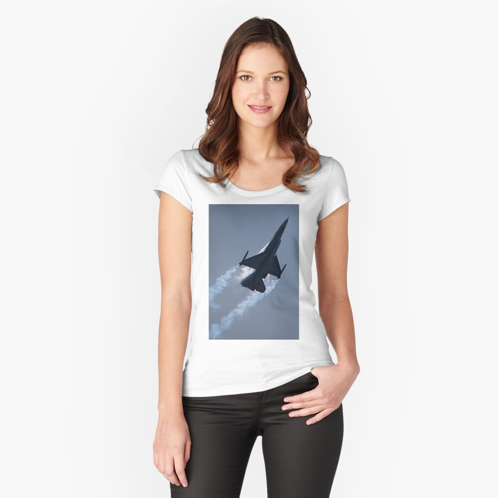 Towards the Heavens Fitted Scoop T-Shirt