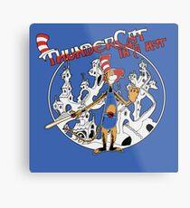Thundercat in a Hat! Metal Print