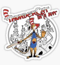 Thundercat in a Hat! Sticker