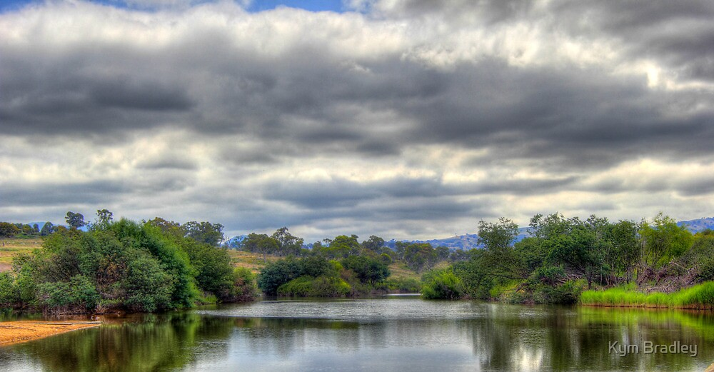 Point Hut Crossing over the Murrumbidgee River by Kym Bradley