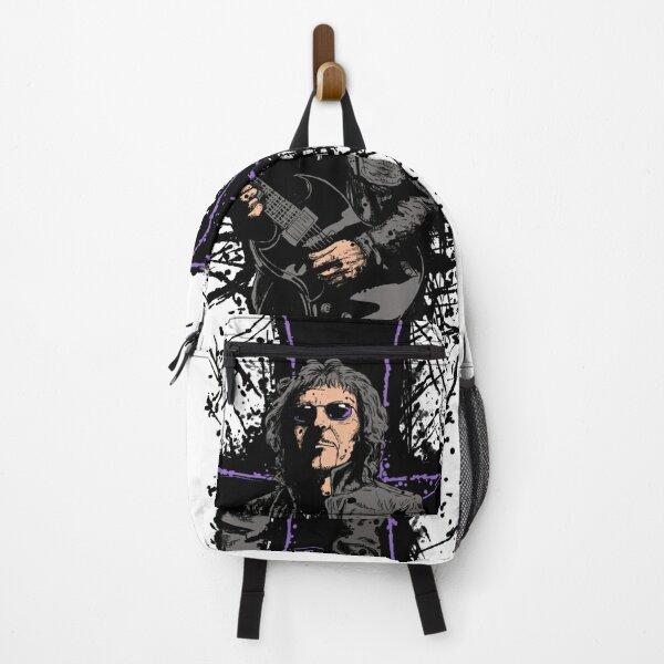 Heavy Guitars Artwork. Heavy Metal art. Backpack