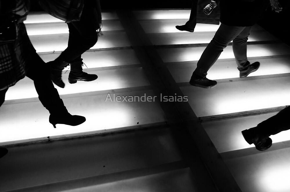"""""""Rushing People"""" by Alexander Isaias"""