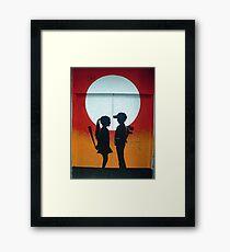 Not Quite Love Framed Print