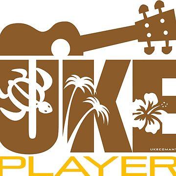 Uke Player Brown by ukecompany