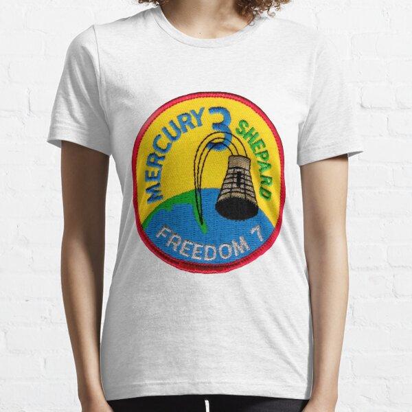Mercury-Redstone 3 (Freedom 7) Mission Logo Essential T-Shirt